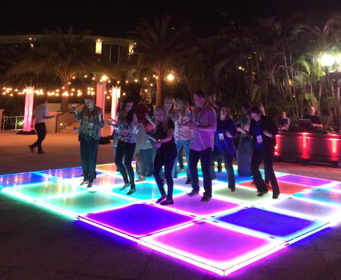 Double platinum dj services music selection led lighted dance floor wedding reception tyukafo