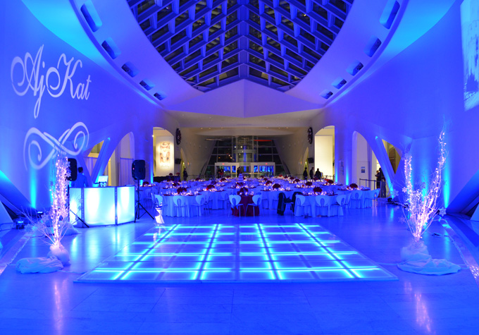 Led Dance Floor Event Al Catering Wedding