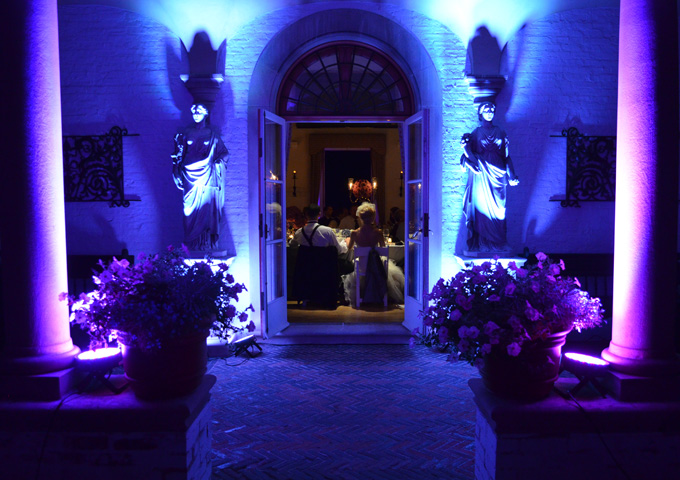 Wedding Up-lighting Services